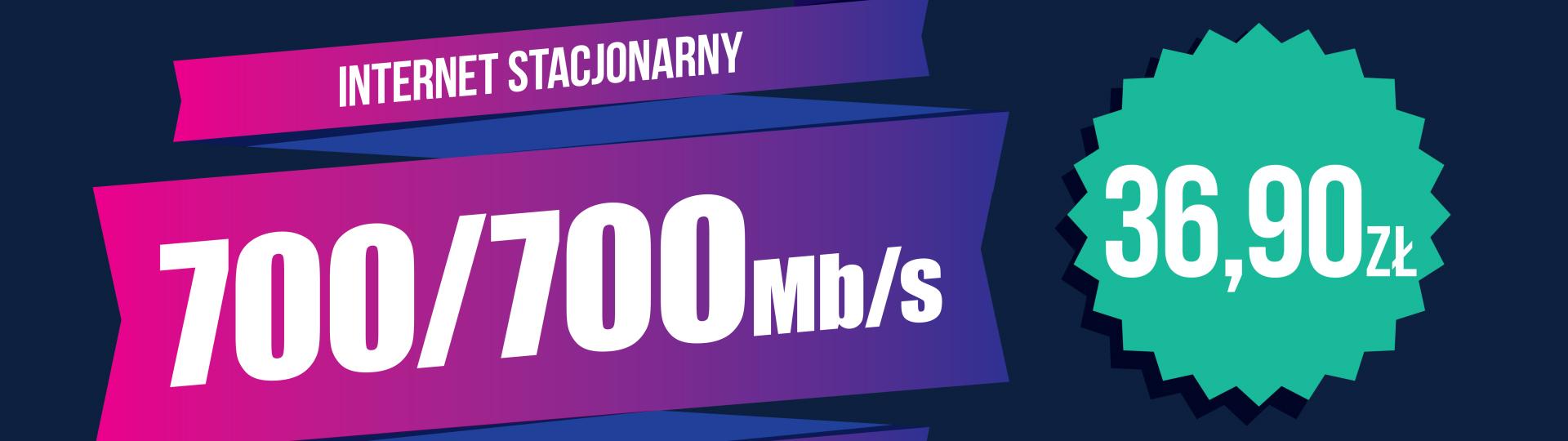 Większa prędkość internetu w tej samej cenie!